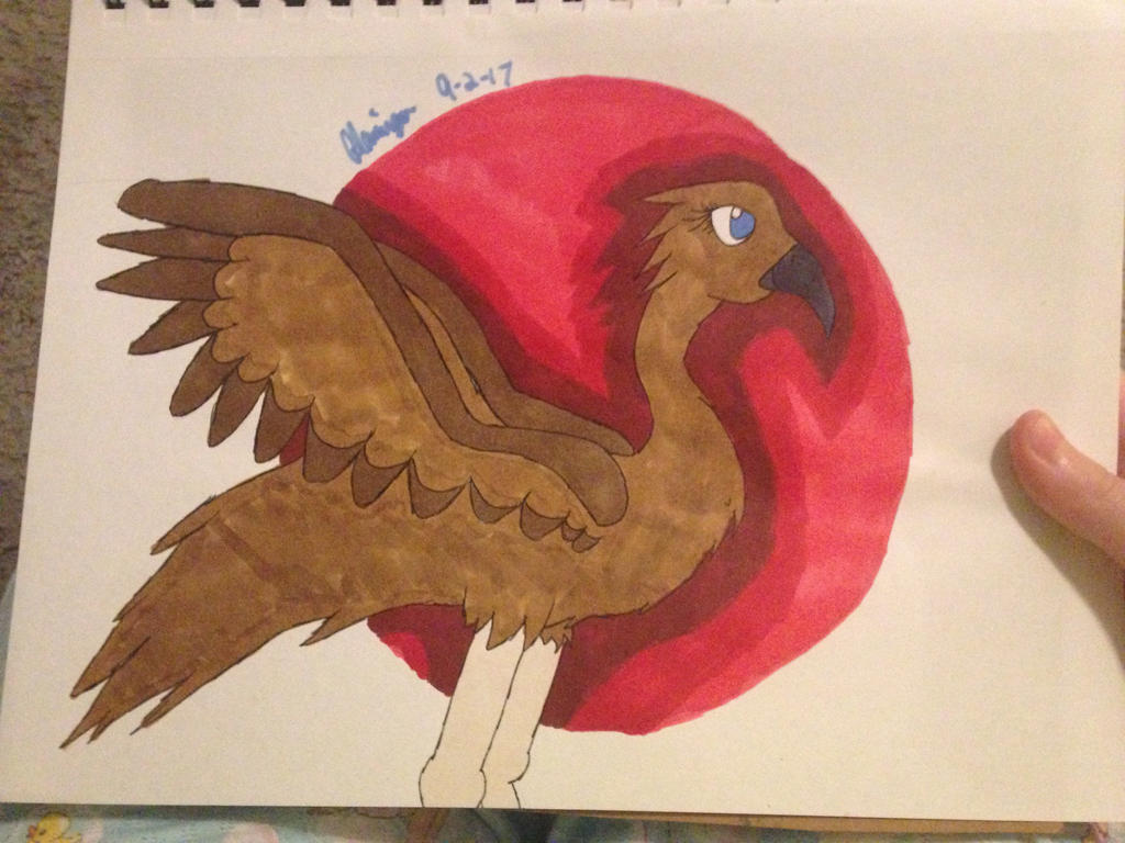 Emu birb by FlamingGatorGirl