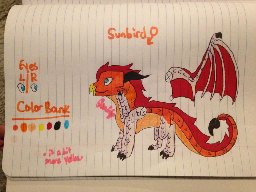 Sunbird ref by FlamingGatorGirl