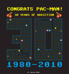 Pac-Man anniversary by jutul