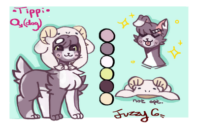 Tippi ref (Commission?) by FuzzyGems