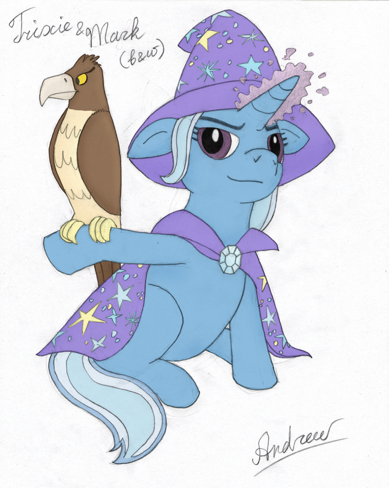 Trixie and Mark: Now in Color by GreenGimmick