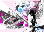 Psychedelic vector wallpaper by xo-MaoriChoco-ox