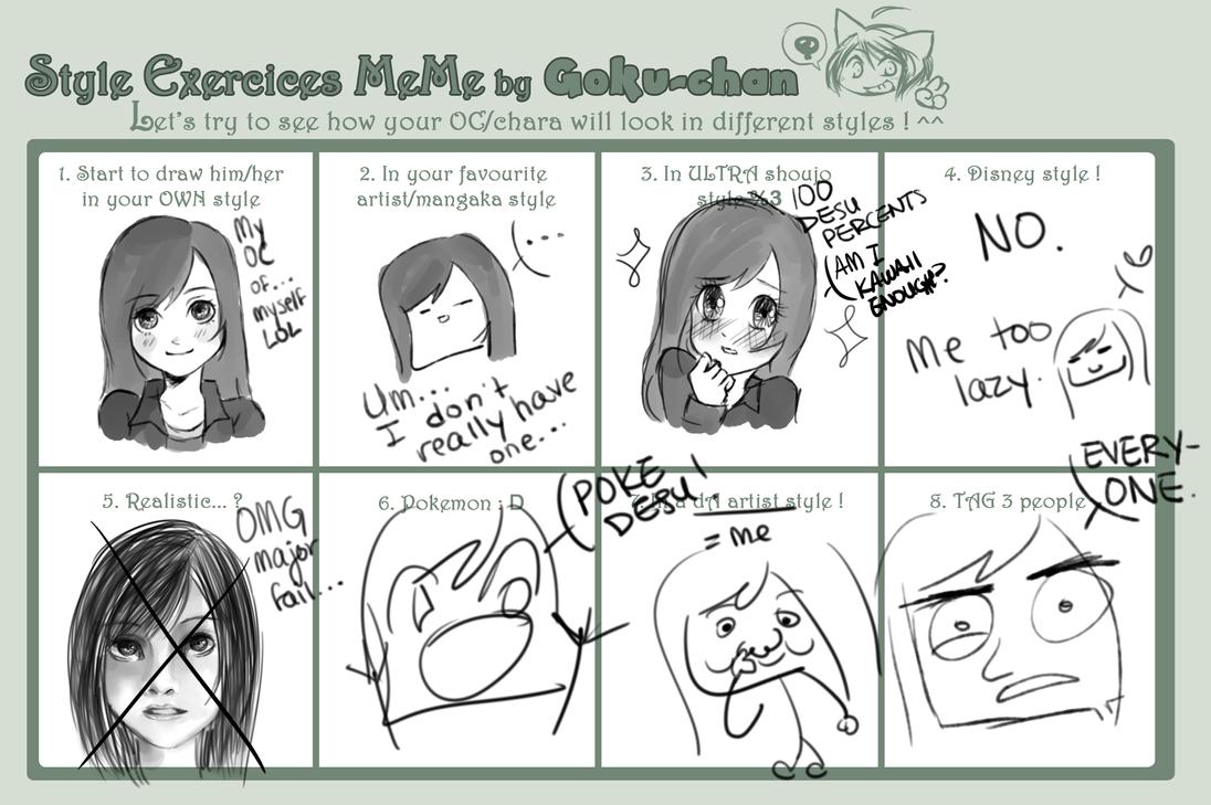 Funny Face Drawings Meme : Le fail drawing styles meme by miarira on deviantart