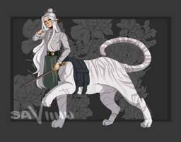 [OPEN] Tiger Centaur - Adoptable #4