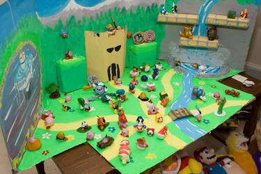 Kirby Models Background - Left by pogsaregood