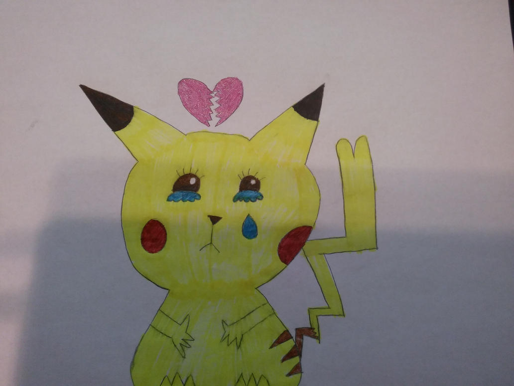 For the Heartbreaking contest: A cute and sad pika by EVM100