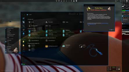 Windows 10 Creator update desktop by Mykou