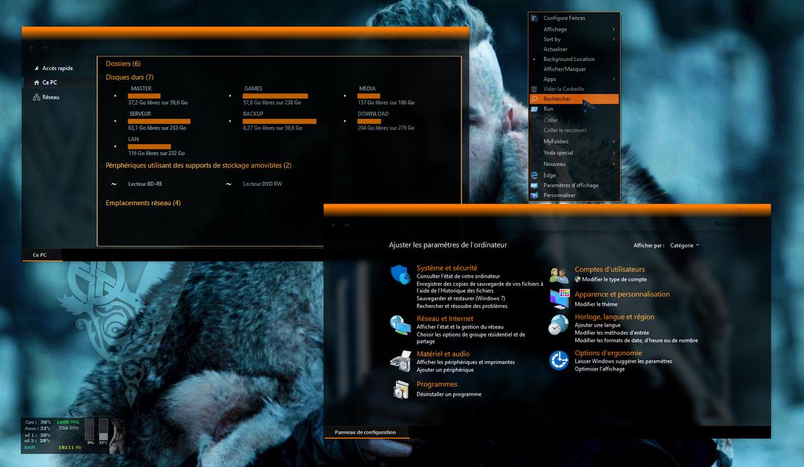 Yoda new  theme : Orange is the new black by Mykou