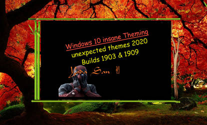 Windows 10 BEST unexpected themes 2020