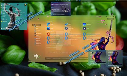 My fully Fluent W10 desktop April 2020