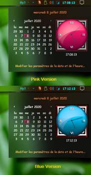Windows 20h2 Win 7 Clock time style