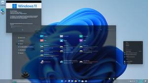 Windows 11 custom theme testing ...