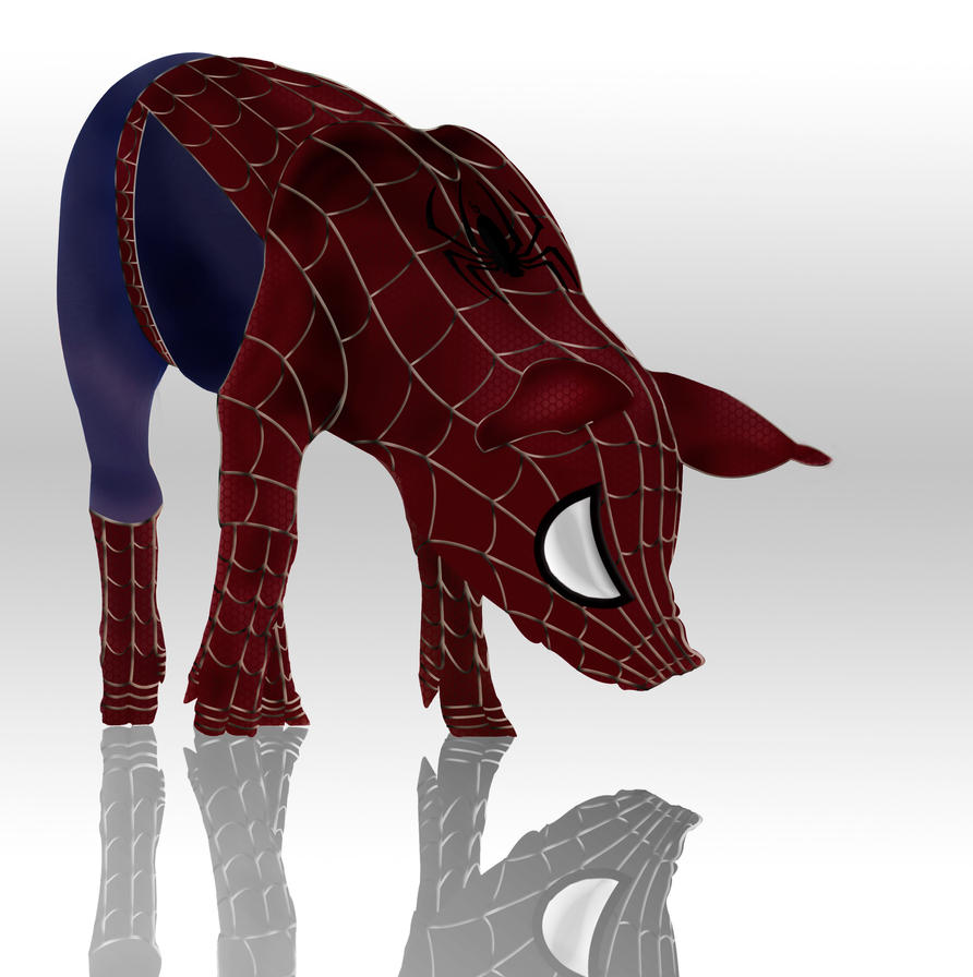 Spider Pig 2.0 by Solracezz