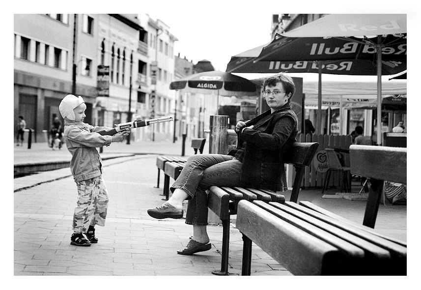 Shooting mummy by Ciril