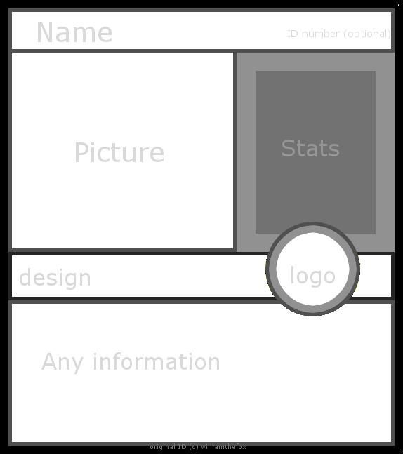 battle card id template by williamthefox on deviantart. Black Bedroom Furniture Sets. Home Design Ideas