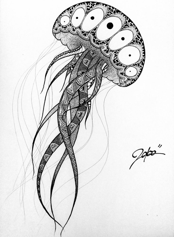Jellyfish by MarbleCK on DeviantArt