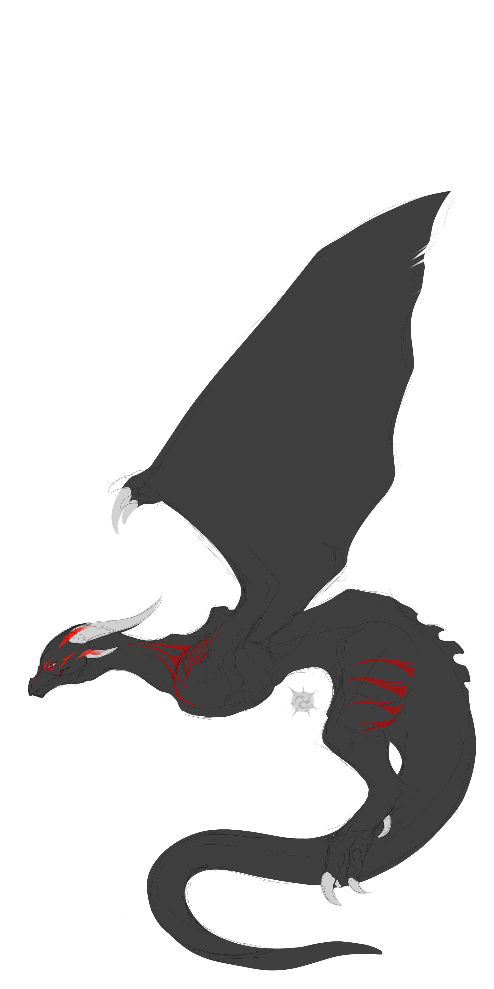 Dragon design for Tee-Kay by UZL-2S