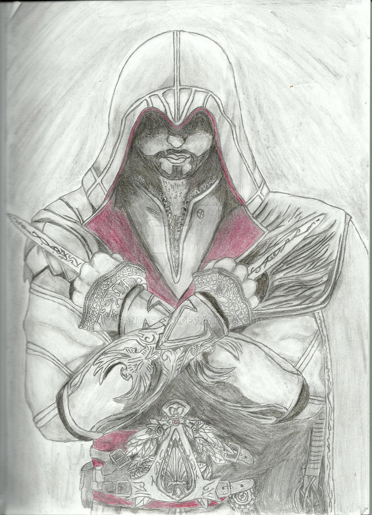 Assassin's Creed Brotherhood-The Mentor by fantasyani