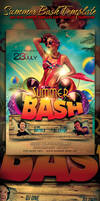 Summer Bash Flyer Template by yAniv-k