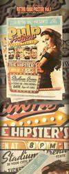 Pulp Retro 1960'S Flyer Template by yAniv-k