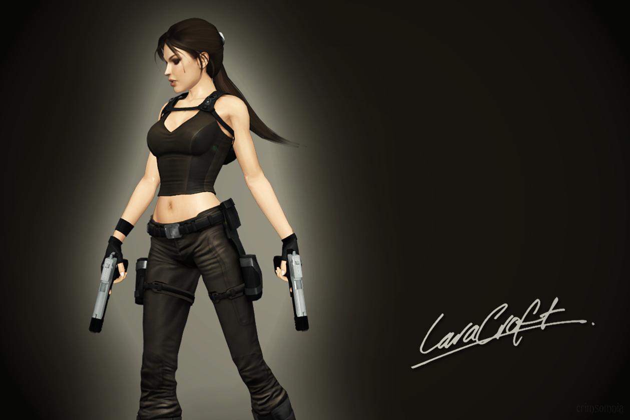 Lara Croft by crimsomnia