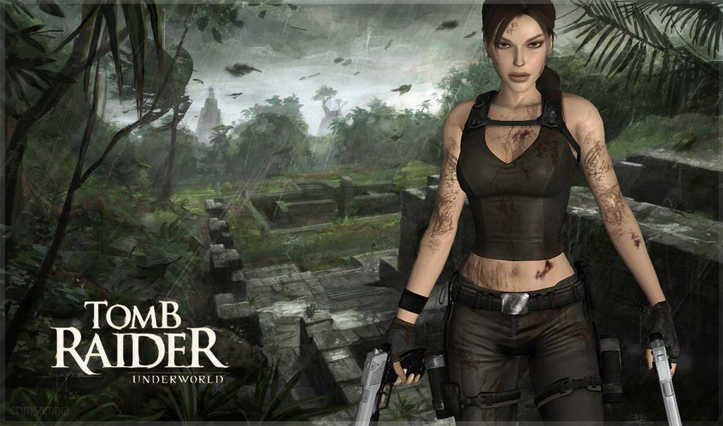 Tomb Raider: Underworld by crimsomnia
