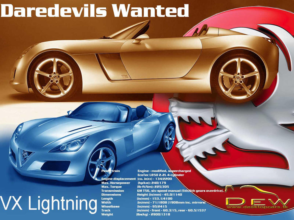 Vauxhall Vx Lightning By Quirco On Deviantart