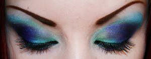 Peacock Inspired by HelianthusMay