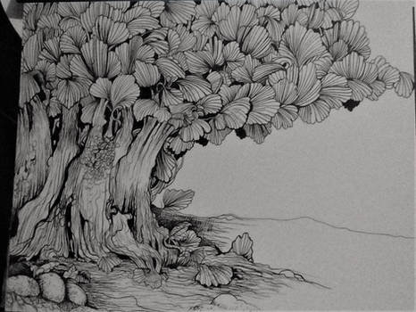 A surprise tree wip02
