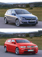 Opel to Bimmer photoshop by glaciess