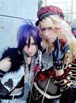 Royz Kuina and Lycaon Yuuki