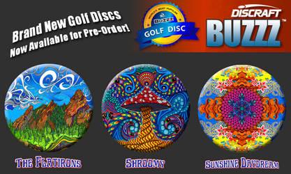 Frisbee Golf Discs by PhilLewis