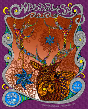Wakarusa 2012 - Conscious Alliance Poster
