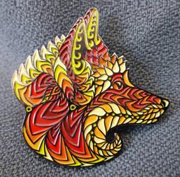 Foxy Face Pin - Series 1