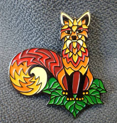 Foxy Tail Pin - Series 1 by PhilLewis