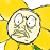 flowey icon - FLOWEY YELLOW DIAMOND FACE|UNDERTALE