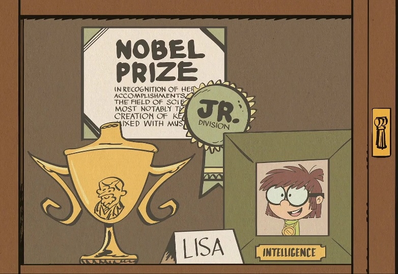 Lisa's trophy case by Maddie-dite13