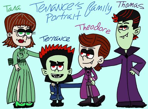 Terrance's family portrait