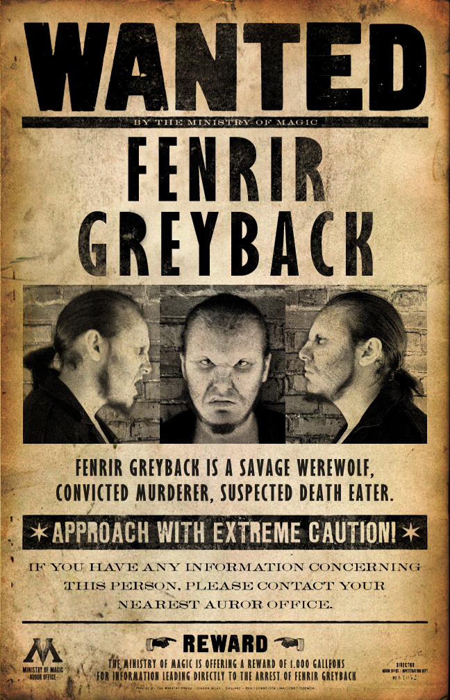 Wanted: Fenrir greyback by reemis on DeviantArt