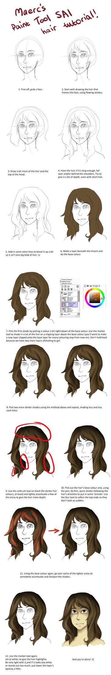 SAI hair tutorial by Maerc-Eci