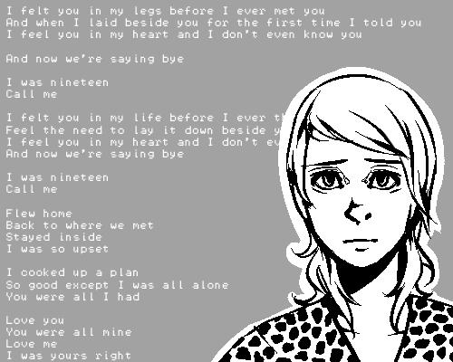 I was nineteen by Maerc-Eci
