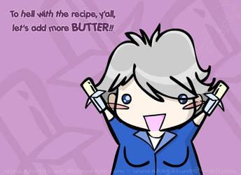 Paula Deen - Moar Butter Plz by Akagitsune