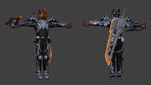[3D Model] Kamen Rider Buster