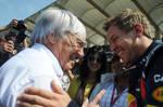 Bernie Ecclestone Mark Webber