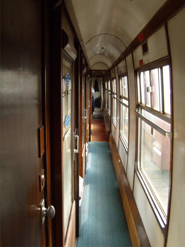 The Hogwarts Express corridor by StarRose17 on DeviantArt