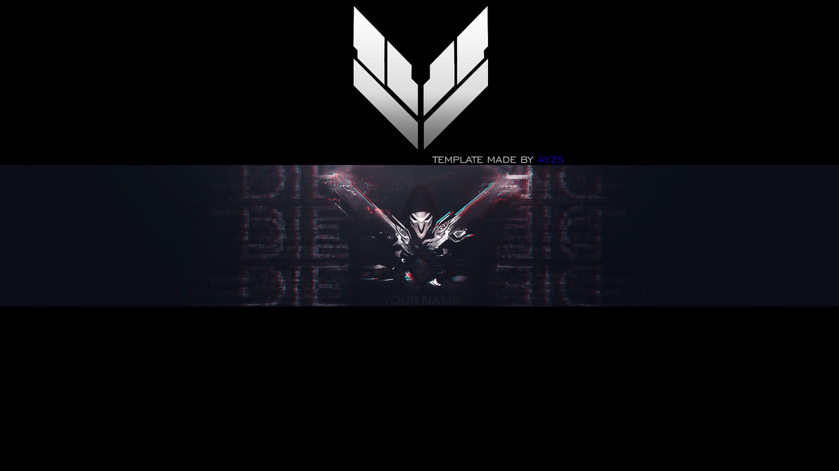 Reaper - Overwatch [Free Banner Template] by Ayzs on DeviantArt