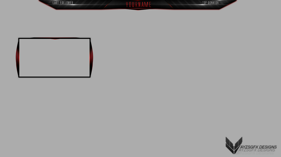 overlay free twitch template 1 by ayzs