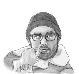 Portrait Sketches - Alex