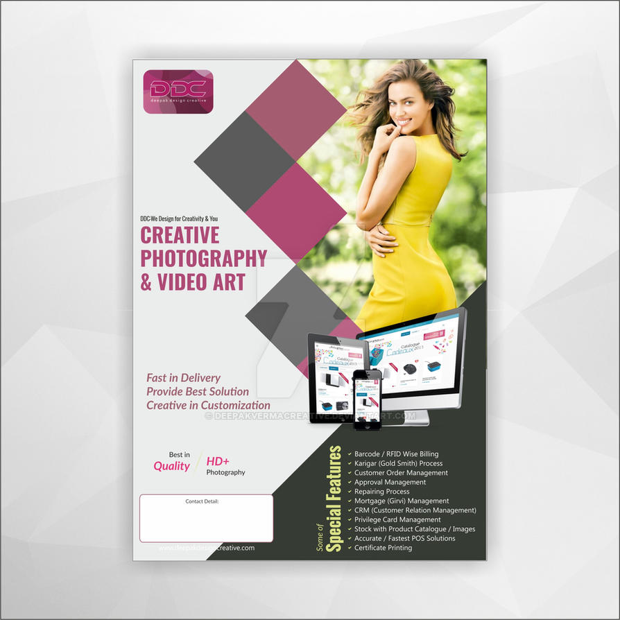 Corporate Photography Flyer Design-01 by Deepakvermacreative