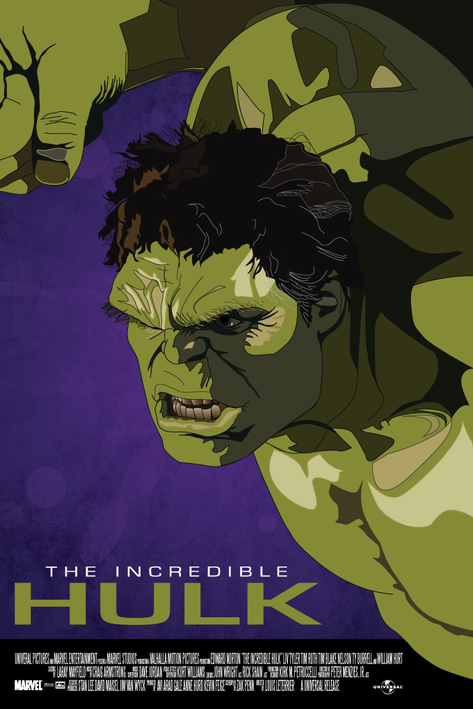 The Incredible Hulk Movie Poster by petemag on DeviantArt